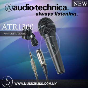 Harga Audio-Technica ATR1300 Unidirectional Dynamic Vocal/Instrument Microphone (ATR 1300)