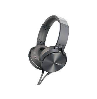 Harga Sony MDR-XB950/H Extra Bass Headphone - Silver (International Version)