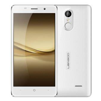 Harga Original Leagoo M5 Smartphone 5.0 Inches 2G+16G 5MP+8MP Dual Cameras Metal Frame Fingerprint White