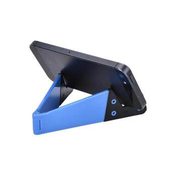 Harga Foldable Mobile Cell Phone Stand Holder For Smartphone Tablet Pc Universal Blue