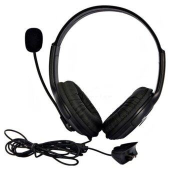 Harga OH Not Specified Live Big Headset Headphone With Microphone for XBOX 360 Xbox360 Slim NEW (Black)