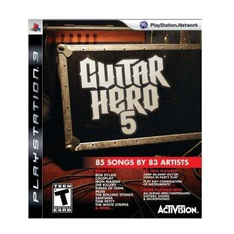 Harga (REFURBISHED) PS3 Guitar Hero 5
