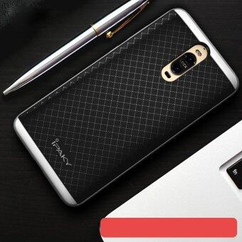 Harga IPAKY PC Bumper + TPU Back Case for Huawei Mate 9 Pro/Porsche Design - Silver