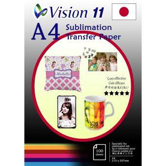 Harga Japan Sublimation Transfer Paper A4 (100pcs/pkt) Sublimate to mug,acrylic,ceramic,jigsaw,flock,mouse pad ,phone casing,apparel,etc…