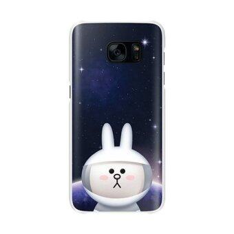 Harga Samsung Galaxy S7 Edge Line Friends Cony Back Cover Case