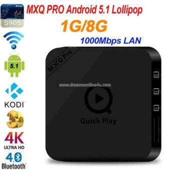 Harga MXQ PRO Amlogic S905 STB Quad-core 1GB 8GB Android 5.1 Kodi Pre-loaded TV Box