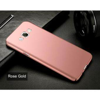 Harga Ultra-thin Hard Hybrid PC Protective Back Cover Case For Samsung Galaxy A8 (Rose Gold)