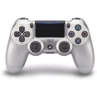 Harga [New Version] Sony DualShock®4 Wireless Controller for PlayStation 4 (Silver) - 1 Year Sony Malaysia Warranty