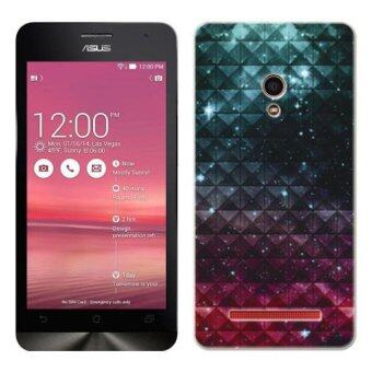 Harga PC Plastic (Red/Blue) nebula Case for Asus Zenfone 5 A500CG (Red/Blue)