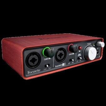 Harga Focusrite Scarlett 2i2 USB Recording Audio Interface (2nd Gen)