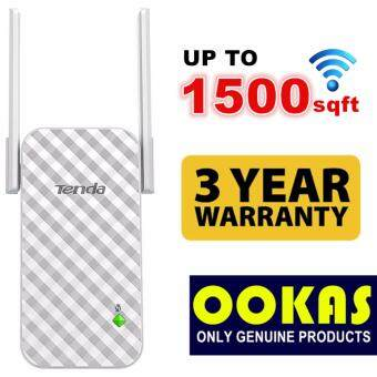 Harga TENDA 300mbps A9 Universal Wireless WiFi Range Extender/Repeater/Booster
