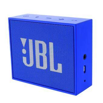 Harga JBL GO Portable Wireless Bluetooth Speaker (Blue)