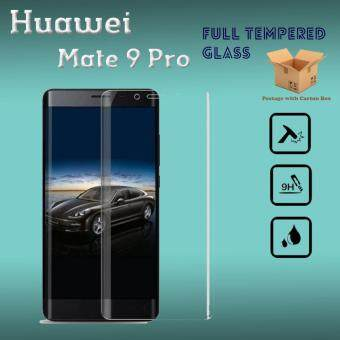 Harga Huawei Mate 9 Pro Full 3D Tempered Glass Screen Protector