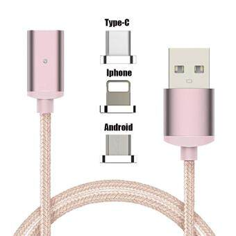 Harga Cable For Iphone Mobile Phone Woven Magnetic Suction Cable Iphone Charging Cable