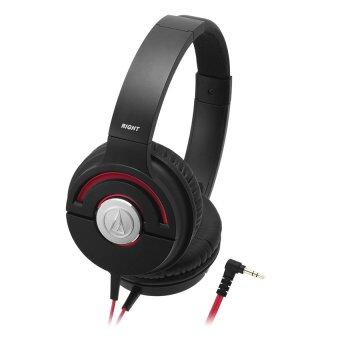 Harga Audio-Technica ATH-WS55X Portable Headphones - Black Red