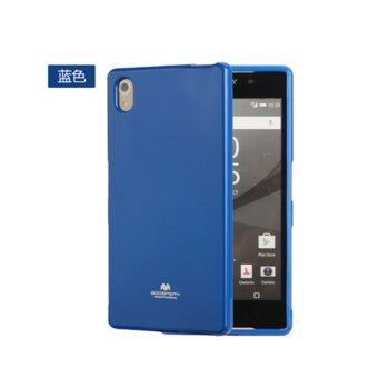 Harga Goospery Jelly Series TPU Soft Case for Sony Xperia Z5 Compact Cellphone TPU Case For Sony Xperia Z5 Mini(Blue)