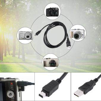 Harga 1.5M 12 Pin Data Cable Camera USB Cable Data Transferring Cable For Olympus Digital Camera