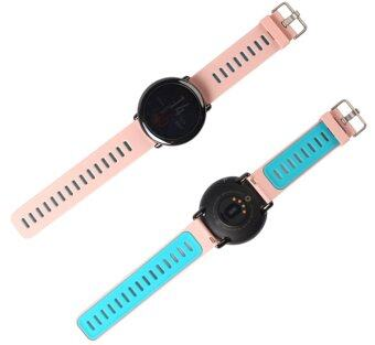 Harga Watch Band Strap for Xiaomi Huami Amazfit Sports Smart Watch Replacement Silicone in Pink+Teal