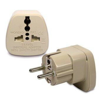 Harga Wonpro Travel Adapter For Germany France Indonesia Korea
