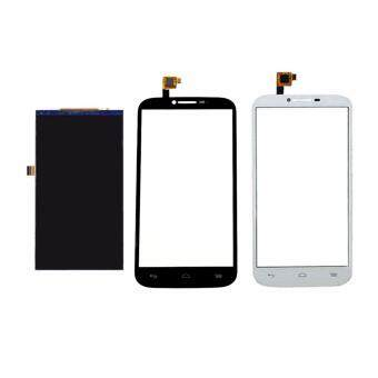 Harga For Alcatel One Touch Pop C9 OT7047 7047 7047D LCD Display Screen+Touch Glass Assembly, White