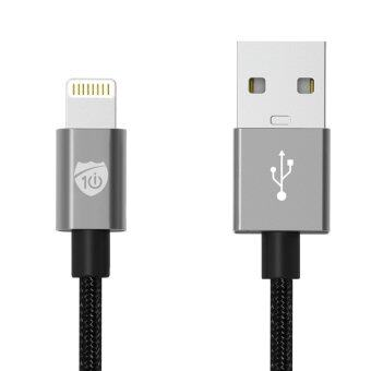 Harga iCable i10 Power Series USB Lightning Cable for iPhone (Space Gray)