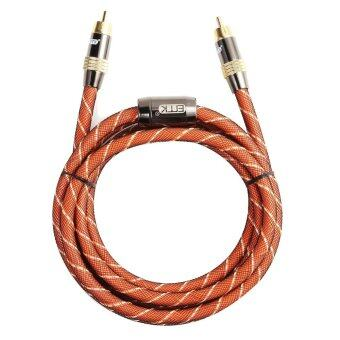 Harga High Performance Digital Coaxial Interconnect Cable Audio/Video RCA Cable