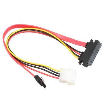 Harga CHEER High Speed Sata 7+15p To Sata 7p M+IDE 4P Hard Disk Power Data Cable 31CM multi color