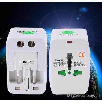 Harga International Universal Travel Adapter With USB