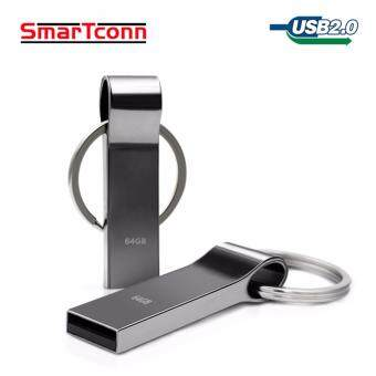 Harga usb flash drive 4GB pen drive pendrive waterproof metal silver u disk memory disk usb 2.0