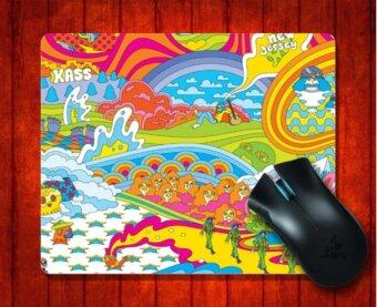 Harga MousePad Hippy Time Artistic for Mouse mat 240*200*3mm Gaming Mice Pad