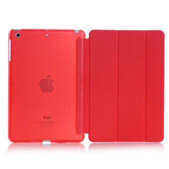Harga Welink 2 in 1 Apple 2016 iPad Pro (9.7) / iPad Air 2 (ipad 6) case , Tempered Glass + Ultra Slim Smart Cover PU Leather Case For Apple 2016 iPad Pro (9.7) / iPad Air 2 (ipad 6) (Red)