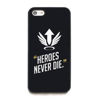 Harga phone case TPU cover for Apple iPhone 5 / 5s Overwatch Mercy Heroes Never Die