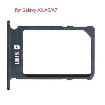 Harga New Black Sim Card 1 Tray Holder For Samsung Galaxy A3 A5 A7