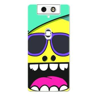 Harga PC Plastic laughing cartoon monster Case for OPPO N3 (Yellow)