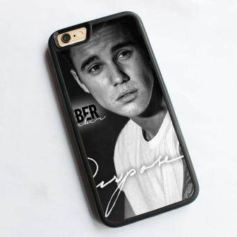 Harga phone case TPU cover for Apple iPhone 6 Plus / 6s Plus Justin Bieber purpose