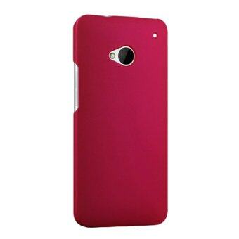 Harga Case for HTC One M7 801e Hard PC Snap-On Back Case Cover - Hot Pink