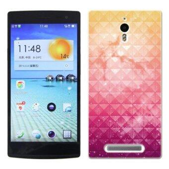 Harga PC Plastic nebula (Purple) light Case for OPPO FIND7 (Multicolor)