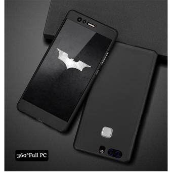 Harga I Tech 360 Degree Full Body Protection Cover Case With Tempered Glass for Huawei P9 Plus (Black)