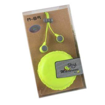 Harga Sibyl Earphone M85 Fluorescent Green