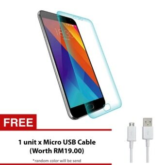 Harga Meizu MX4 Pro Tempered Glass Screen Protector + FREE Micro USB Cable