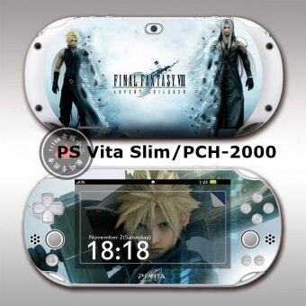 Harga Sticker skin pain decal anime for Playstation vita 2000 PSV2000 Final Fantasy
