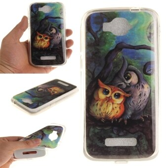 Harga Moonmini Case for Alcatel One Touch Pop C7 Shockproof TPU Back Cover Case - Owls