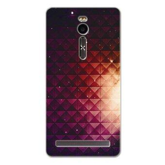 Harga PC Plastic (Fuchsia) light nebula Case for Asus Zenfone 2 ZE551ML (Multicolor)