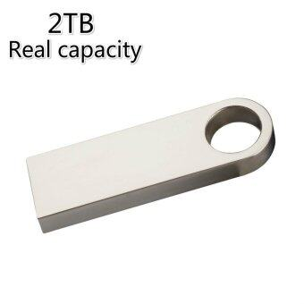 Harga HOT sale Metal Usb Flash Drive Mini Pen Drive 2TB pendrfives USB 2.0 flash drive Usb Stick Memory stick gift