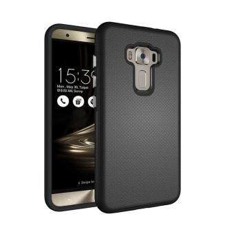 Harga For Asus ZenFone Selfie ZD551KL Ultra Slim Anti-Slip Shockproof Phone Back Case Cover (Black)