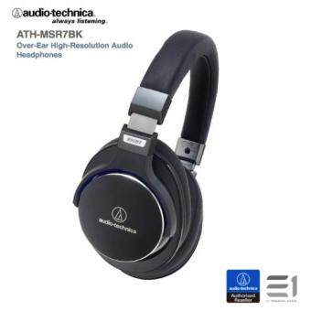 Harga Audio-Technica ATH-MSR7 Over-The-Ear Headphone (Black)