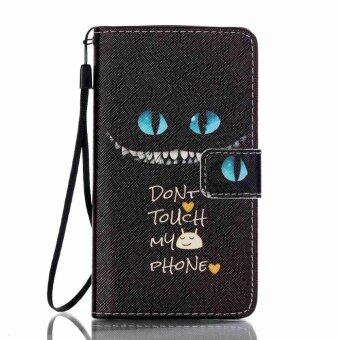 Harga Blud Eyes Flip Cover Leather Case for Lenovo A536 (Blue Eyes)