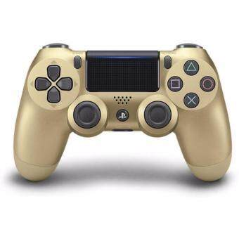 Harga [New Version] Sony DualShock 4 Wireless Controller for PlayStation 4 (Gold) - 1 Year Sony Malaysia Warranty