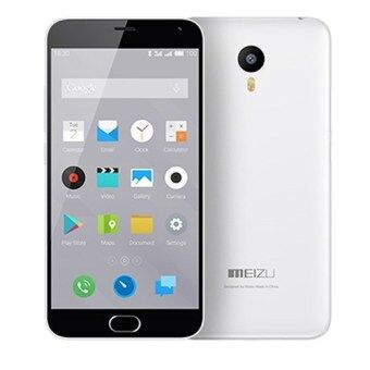 Harga Meizu M2 Note (White) + Free Case + Free Tempered Glass
