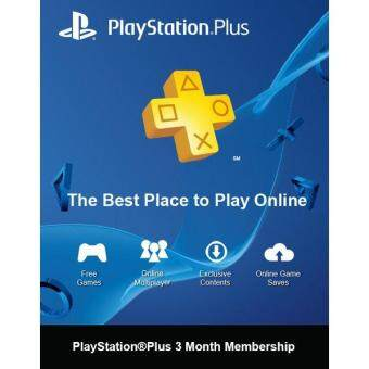 Harga PS PLUS 3 Months Membership (Asia)